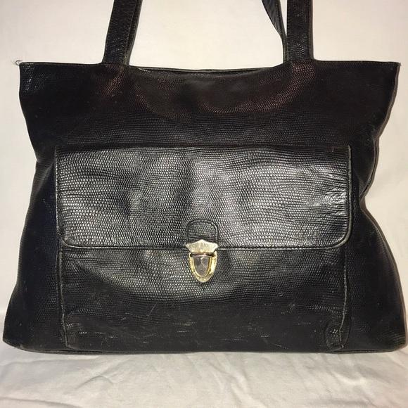 3a754c09bee3 Bloomingdale s Handbags - FLASH SALE Bloomingdales Leather Shopper Tote Bag